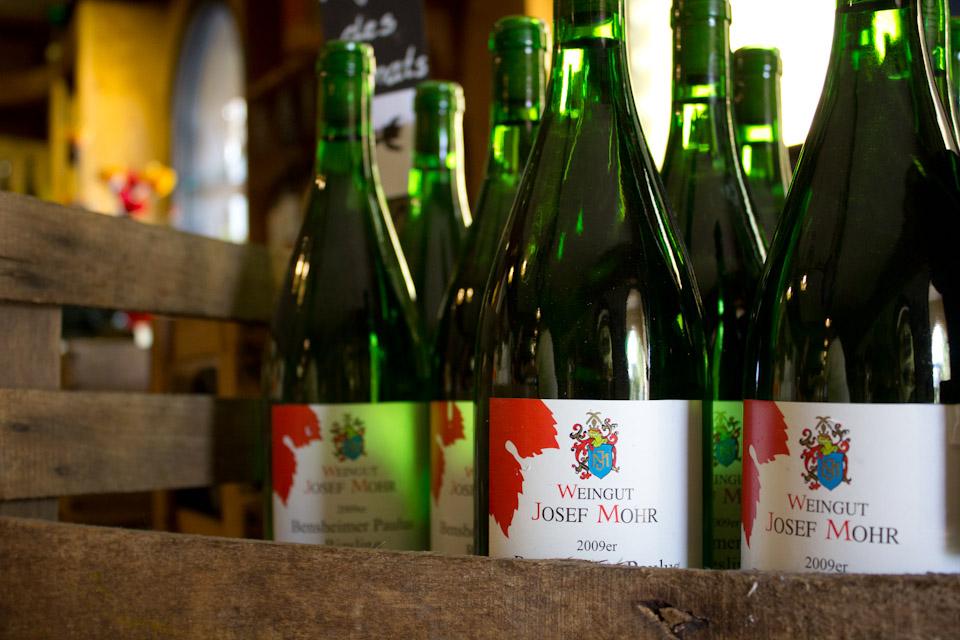 Weinflaschen - Angebot - Weingut Mohr