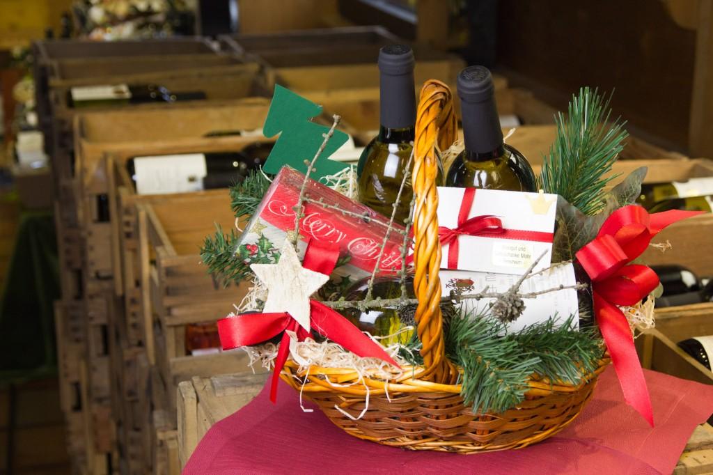 Weingeschenk zu Weihnachten