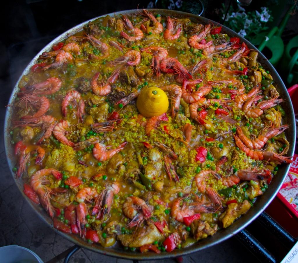 Kulinarische Weinprobe - Paella und Wein