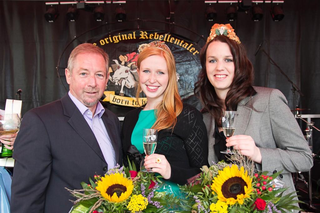 2013 Weinmarkt Heppenheim Julia Bertram bei der Eröffnung